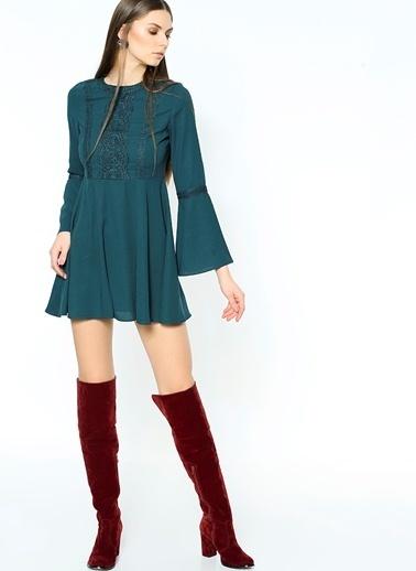 Glamorous Elbise Yeşil